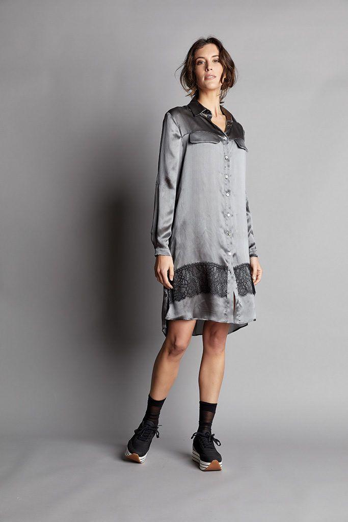 Camicia in seta La Fabbrica della Lana D90619