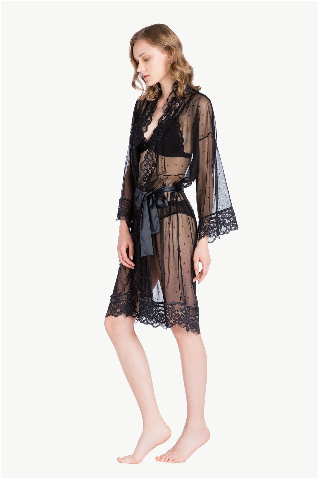 Dressing Gown Tulle Twin-set LA7RCC