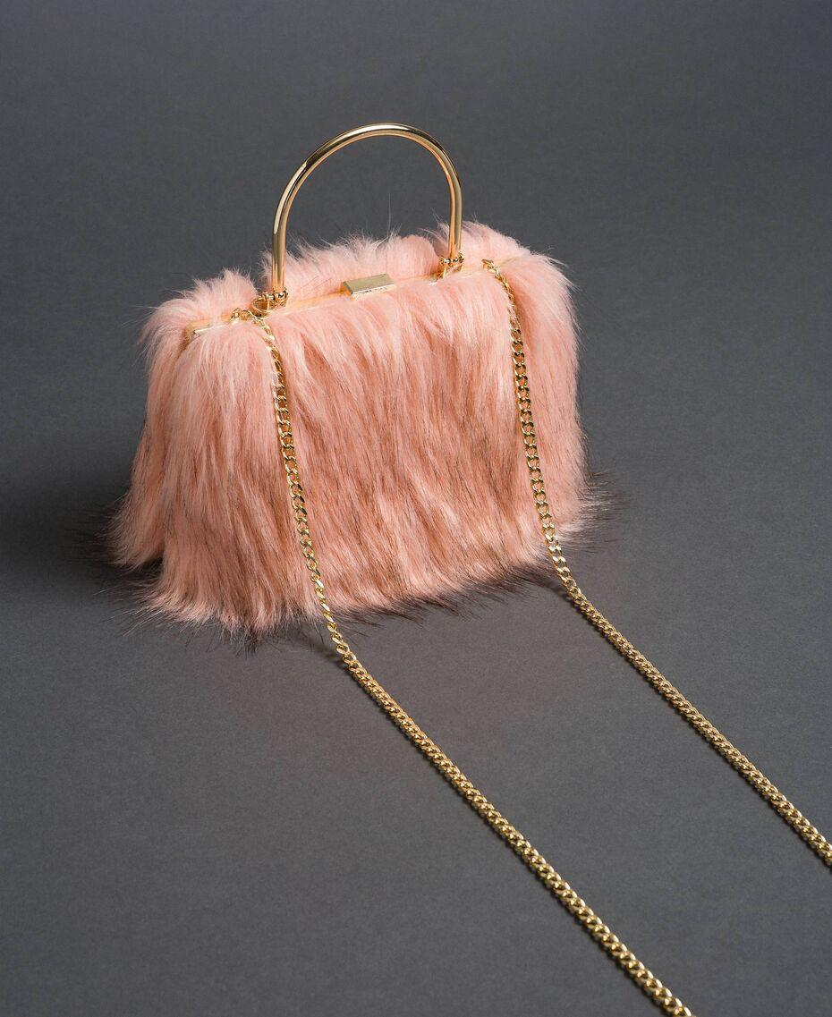 Twinset faux fur shoulder bag 192LL7ZNN