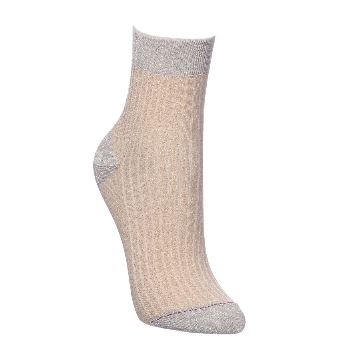 T6194K gold lurex COCK sock