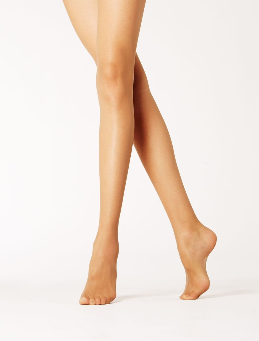 Max Mara 30 denier tights in tulle BOMBAY