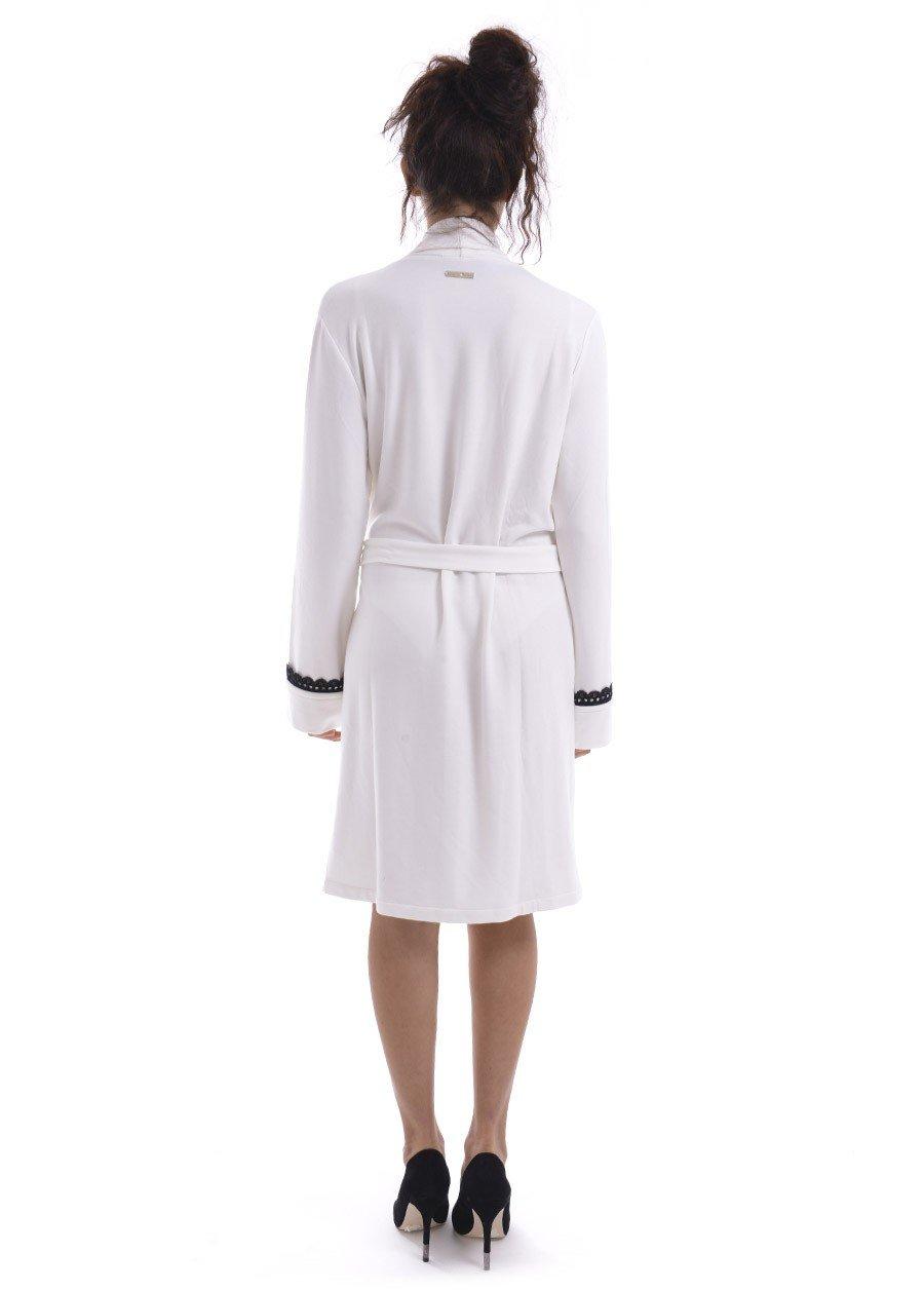 TWIN-SET ivory LINGERIE robe LA6RAA
