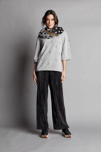 La Fabbrica della Lana pleated trousers D90124