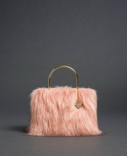 Twinset faux fur shoulder bag 192LL7ZNN