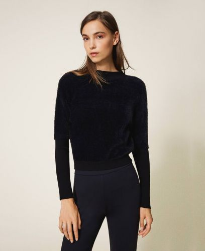 TWINSET fur jumper