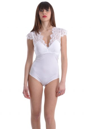Body TWIN-SET bianco LS8C00
