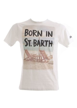 T-Shirt MC2 SAINT BARTH JAWS Unique Edition