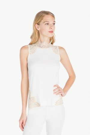 Top TWIN-SET pizzo IA7TDD