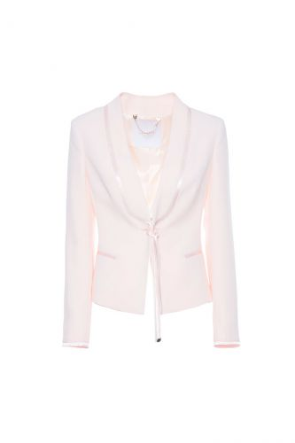 NENETTE Barbara pale pink jacket