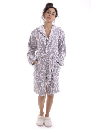 TWIN-SET melange oats LA5VV LINGERIE robe