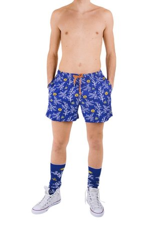 Blue ROOSTER seabed man costume