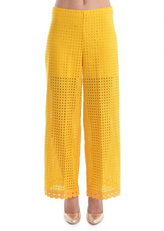 Yellow trousers Raffaela D'Angelo PND11-CP