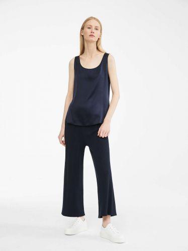 MAX MARA  silk blu top