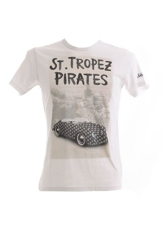 T-Shirt MC2 SAINT BARTH BLANCHE