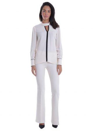 Camicia off-white NENETTE 24BB-FIANDRA