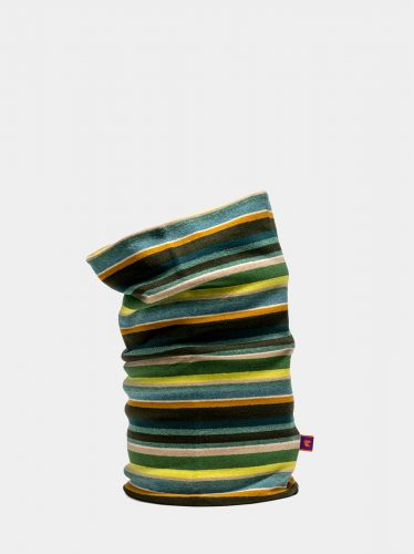 GALLO neck warmer hood multicolor pattern