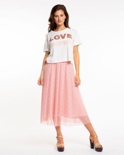 PEPITA pink tulle skirt