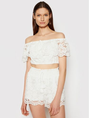 Twin Set ivory lace top