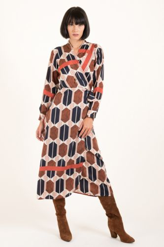 Souvenir wrap dress C26S0752